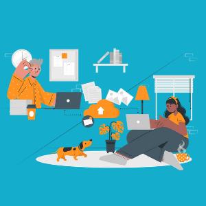 کار اینترنتی در منزل با حقوق بالا
